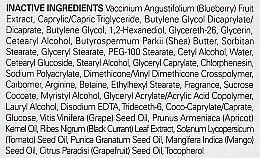 Jagodowy intensywnie nawilżającykrem do twarzy - Frudia Blueberry Intensive Hydrating Cream (miniprodukt) — фото N4