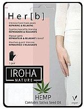 Kup Odżywcza maska do rąk z konopiami - Iroha Nature Cannabis Hand Mask