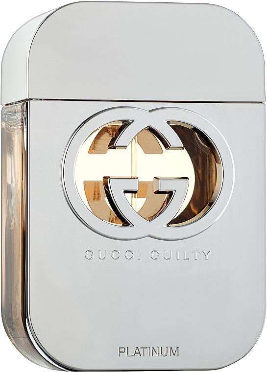 Gucci Guilty Platinum Edition - Woda toaletowa — фото N1