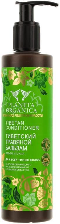 Tybetańska odżywka do włosów - Planeta Organica Tibetan Conditioner