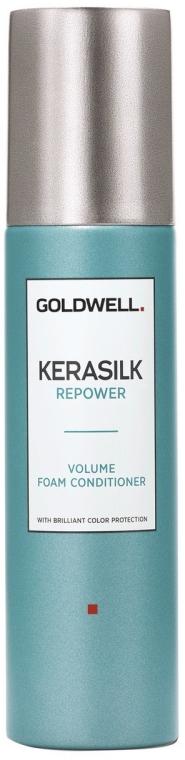 Odżywka zwiększająca objętość włosów - Goldwell Kerasilk Repower Volume Foam Conditioner — фото N1