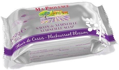 Mydło w kostce Czarna porzeczka - Ma Provence Blackcurrant Blossom Marseille Soap — фото N1