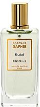 Kup Saphir Parfums Rubi - Woda perfumowana