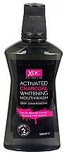 Wybielający płyn do płukania jamy ustnej z aktywnym węglem - Xoc Activated Charcoal Whitening Mouthwash — фото N1