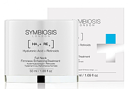 Kup Ujędrniający krem do szyi Kwas hialuronowy i retinoidy - Symbiosis London Full Neck Firmness Enhancing Treatment