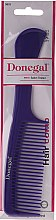 Grzebień do włosów 21 cm, fioletowy - Donegal Hair Comb — фото N2