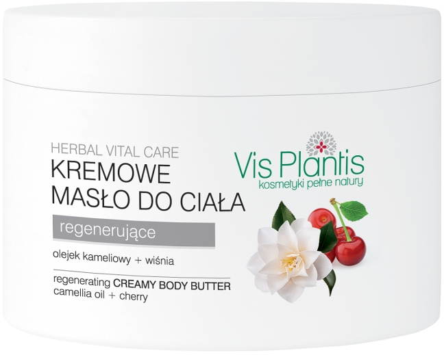 Regenerujące kremowe masło do ciała - Vis Plantis Herbal Vital Care