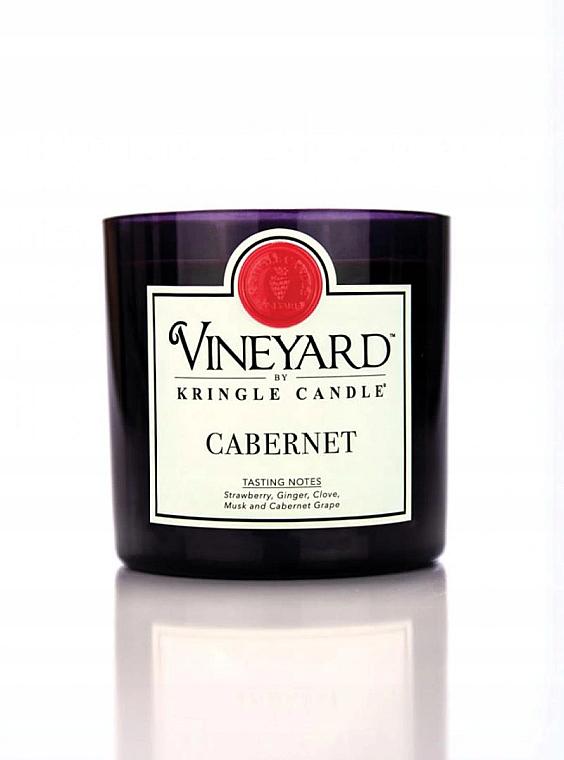 Świeca zapachowa w szklance - Kringle Candle Cabernet — фото N1