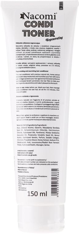 PREZENT! Naturalna odżywka regenerująca do włosów - Nacomi Regenerating Conditioner — фото N2