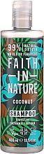 Kup Szampon do włosów normalnych i suchych Kokos - Faith In Nature Coconut Shampoo