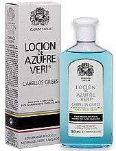 Kup Normalizujący lotion do włosów szarych - Intea Azufre Veri Balance Lotion for Grey Hair