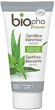 Kup Naturalna pasta wybielająca do zębów z mentolem - Biopha Nature Toothpaste Menthe