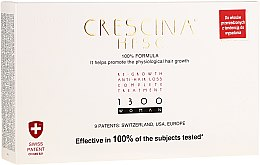 Kup Panaceum na rzednące włosy dla kobiet - Labo Crescina Re-Growth Anti-Hair Loss Complete Treatment 1300 Woman