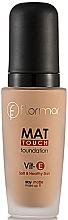 Kup Matujący podkład do twarzy - Flormar Mat Touch Foundation