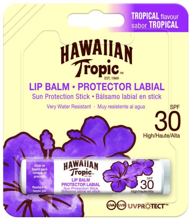 Ochronny balsam do ust - Hawaiian Tropic Lip Balm SPF 30 — фото N1
