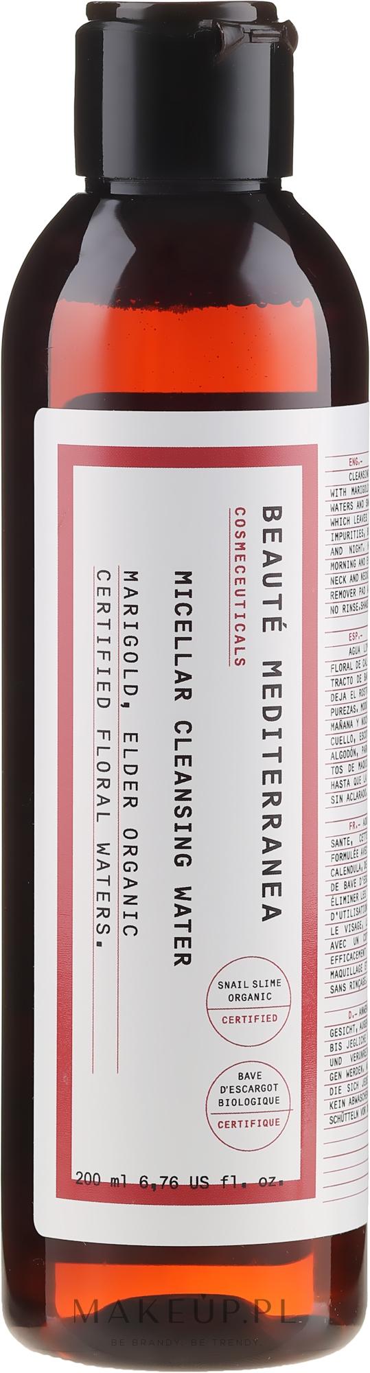 Oczyszczająca woda micelarna - Beaute Mediterranea Micellar Cleansing Water — фото 200 ml