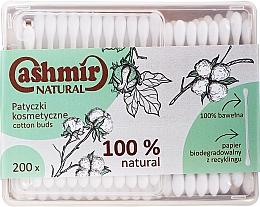Kup Patyczki kosmetyczne, 200 szt. - Cashmir Natural Cotton Buds