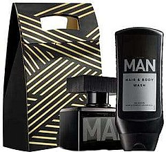 Kup Avon Man - Zestaw (edt 75 ml + sh/gel 250 ml + bag)