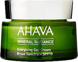 Kup Energizujący krem do twarzy na dzień SPF 15 - Ahava Mineral Radiance Energizing Day Cream SPF 15