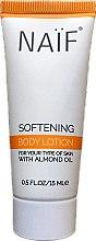 Kup Zmiękczający balsam do ciała z olejem lnianym - Naïf Softening Body Lotion (miniprodukt)