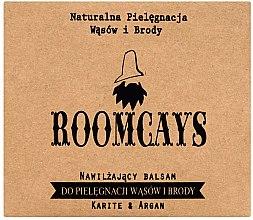 Kup Nawilżający balsam do pielęgnacji wąsów i brody Masło karite i olej arganowy - Roomcays