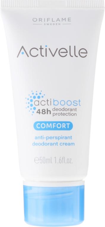 Antyperspiracyjny dezodorant w kremie - Oriflame Activelle Comfort Anti-Perspirant Deodorant Cream — фото N1