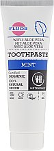 Kup Organiczna miętowa pasta do zębów z aloesem - Urtekram Mint Toothpaste Organic