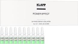 Dwufazowe serum do twarzy z kolagenem - Klapp Bi-Phase Serum + Collagen — фото N4