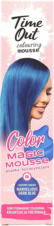 PRZECENA! Pianka koloryzująca do włosów - Time Out Color Magic Mousse * — фото N1