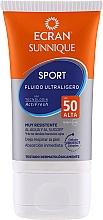 Kup Ultralekki balsam przeciwsłoneczny dla osób aktywnych z filtrem SPF 50 - Ecran Sun Sport Ultralight Fluid