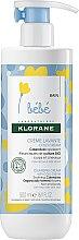 Kup Nawilżający krem dla dzieci - Klorane Bebe Cleansing Cream with Cold Cream
