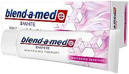Kup Wybielająca pasta do wrażliwych zębów - Blend-a-Med 3D White Whitening Therapy Sensitive