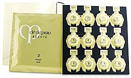 Kup Witamina D3 w kapsułkach - Cle De Peau Beaute Illuminating Concentrate Set (f/lot/6x3ml + f/essence/6x2ml + f/mask/6pcs) *
