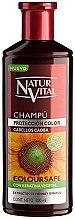 Kup Szampon utrwalający kolor włosów farbowanych - Natur Vital Coloursafe Henna Colour Shampoo Mahogony Hair