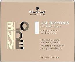 Kup Koncentrat z witaminą C do włosów - Schwarzkopf Professional Blondme All Blondes Vitamin C Shot
