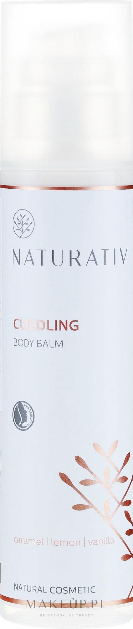 Perfumowany nawilżający balsam do ciała Karmel, cytryna, wanilia - Naturativ Cuddling Body Balm Carmel, Lemon, Vanila — фото 200 ml