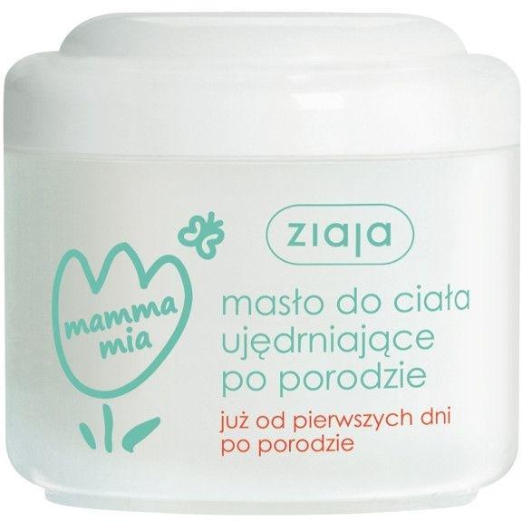 Ujędrniające masło do ciała po porodzie - Ziaja Mamma Mia