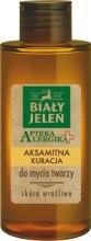 Kup Aksamitna kuracja do mycia twarzy - Biały Jeleń Apteka alergika