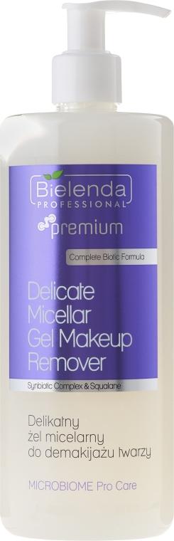 Delikatny żel micelarny do demakijażu twarzy - Bielenda Professional Premium Microbiome Pro Care