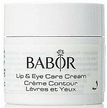 Kup Krem przeciwzmarszczkowy pod oczy - Babor Skinvoage PX Sensational Lip & Eye Care Cream