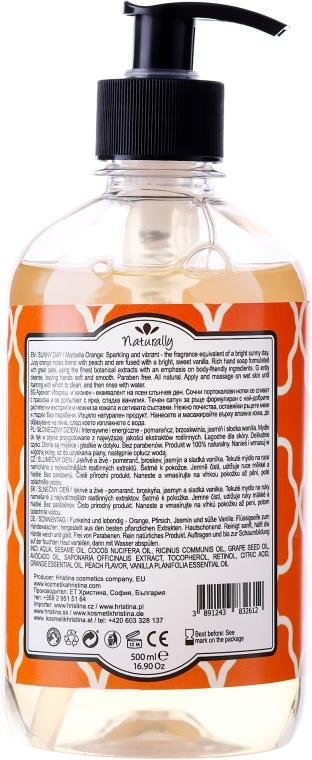 Naturalne mydło w płynie do rąk Słoneczny dzień - Naturally Hand Soap Sunny Day — фото N2