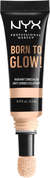 Rozświetlający korektor do twarzy - NYX Professional Makeup Born To Glow Radiant Concealer