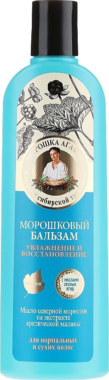 Moroszkowy balsam do włosów normalnych i suchych Nawilżenie i regeneracja - Receptury Babci Agafii Moroszka Agafii