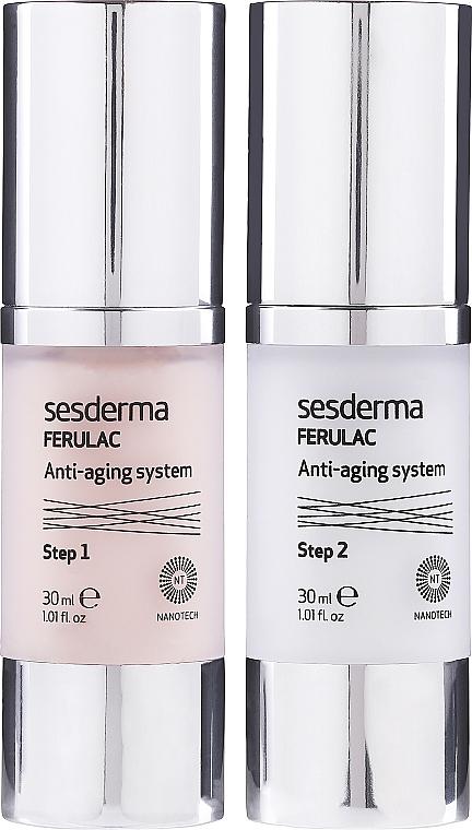 Kuracja zwalczająca oznaki starzenia - SesDerma Laboratories Ferulac Antiaging System — фото N1