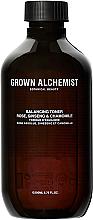 Kup PRZECENA! Tonik regulujący - Grown Alchemist Balancing Toner: Rose Absolute, Ginseng & Chamomile *
