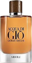 Kup Giorgio Armani Acqua di Gio Absolu - Woda perfumowana