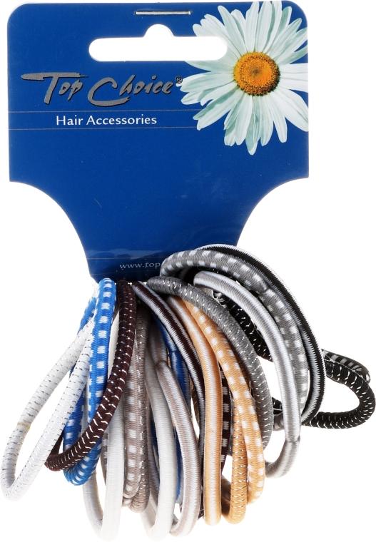 Zestaw gumek do włosów 22289, 20 szt. - Top Choice — фото N1