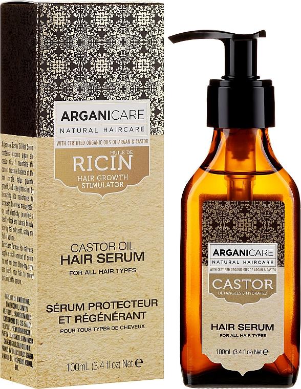 Serum na porost włosów - Arganicare Castor Oil Hair Serum