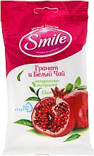 Kup Chusteczki nawilżane, Granat, 15szt - Smile Ukraine