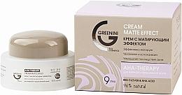 Kup Matujący krem do twarzy - Greenini Cream Matte Effect Red Clover & Acha Acid